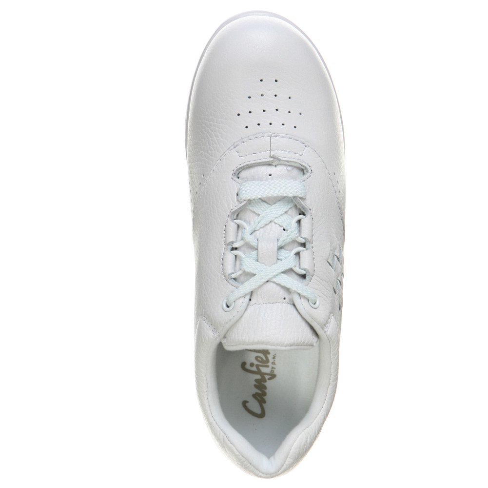 P.W. Minor Women's Leisure White Tumbled 8 M by P.W. Minor (Image #4)