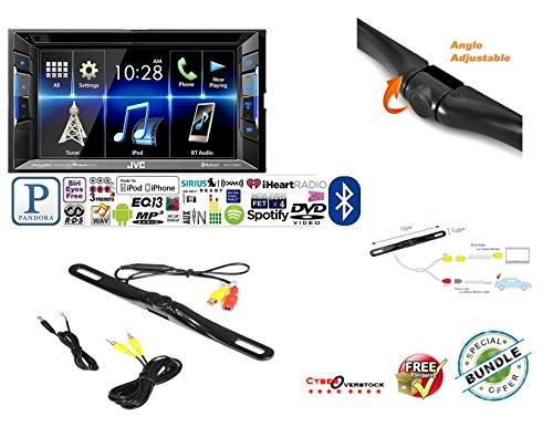JVC KW-V130BT Double DIN Bluetooth In-Dash DVD/CD/AM/FM Car Stereo w/ 6.2