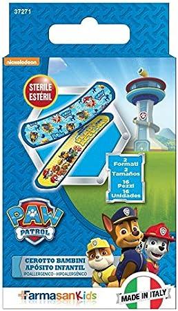 PAW PATROL Caja de 16 tiritas apositos (Gabbiano 37271): Amazon.es: Juguetes y juegos