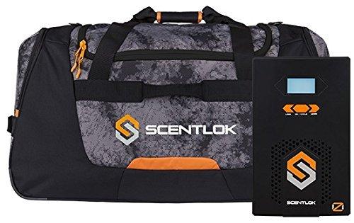ScentLok OZ Active Odor Destroyer OZ Chamber 8K Bag and OZ500 Combo (Black)
