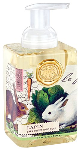 Michel Design Works Foaming Hand Soap, 17.8-Ounce, Lapin