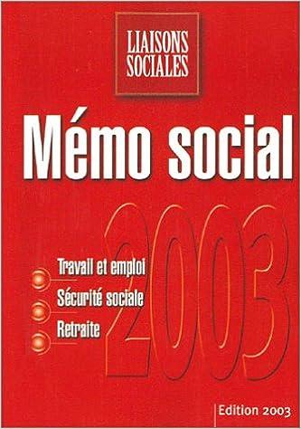 tout neuf ccd84 d7dd3 Mémo social : Travail et emploi - Sécurité sociale ...