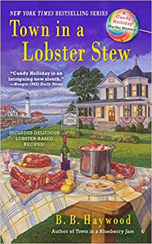 Amazon Town In A Lobster Stew A Candy Holliday Murder Mystery