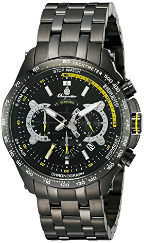 Burgmeister Men's BM530-622 Analog Display Quartz Black Watch