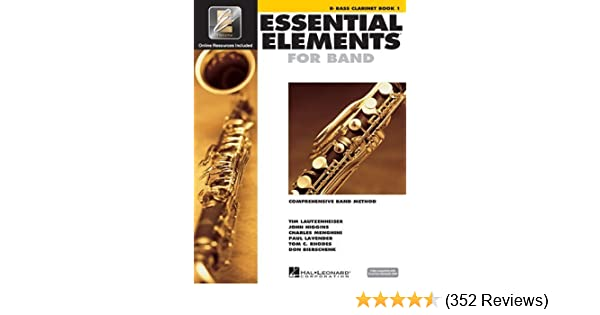 Essential Elements For Band Bb Clarinet Book 1 NEW