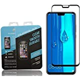 Glass Screen Protector By Pureglas For Huawei Y9 2019, Black Edges