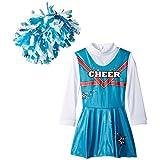 Cheerleader Toddler Costume, Size 4-6