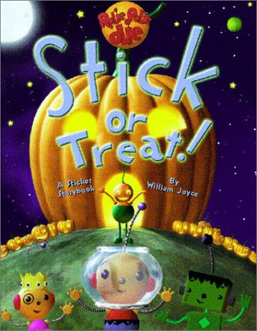 Rolie Polie Olie: Stick or Treat! (Sticker Storybook with a Jillion Stickers!)