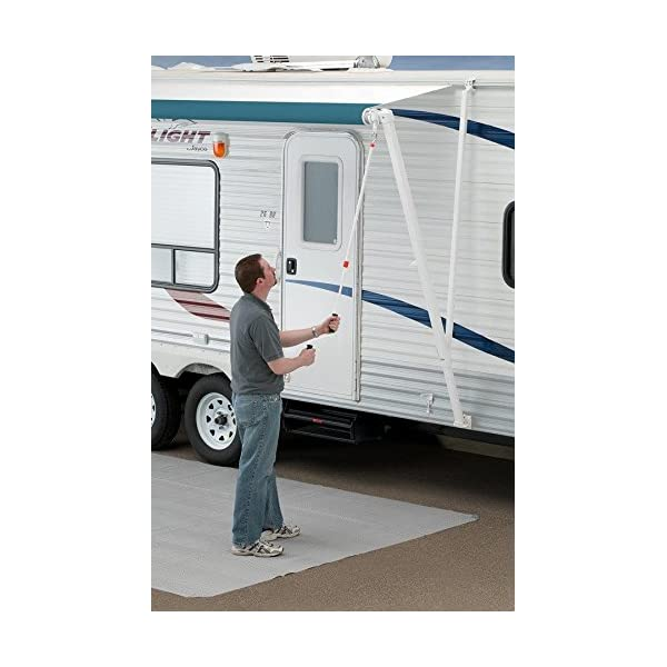 Carefree R001546-RP Pioneer RV Awning Telescoping Hand ...