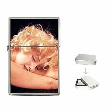 5ba2327d6da18 Amazon.com  MARILYN MONROE LAY DOWN WITH ME Flip Top Lighter With ...