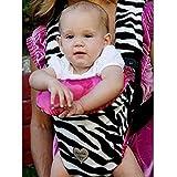 Baby Bella Maya Black White Zebra Baby Carrier Cover