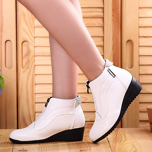 8a55867249a19 Amazon.com: DingXiong Woman Shoes 2018 Women Boots Wedge Heels ...