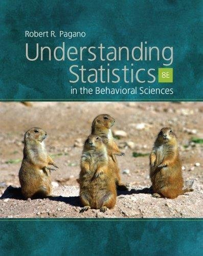 Understanding Statistics in the Behavioral Sciences - By Robert R. Pagano (8th, Eighth edition) Text fb2 ebook