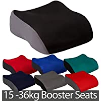 Small Polystyrene Booster Car Seat - Black