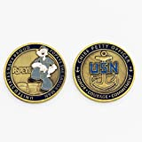 US Navy CPO Popeye Challenge Coin, USN Proud Popeye The Sailor Man, Chief Petty Officer (CPO) Challenge Coin