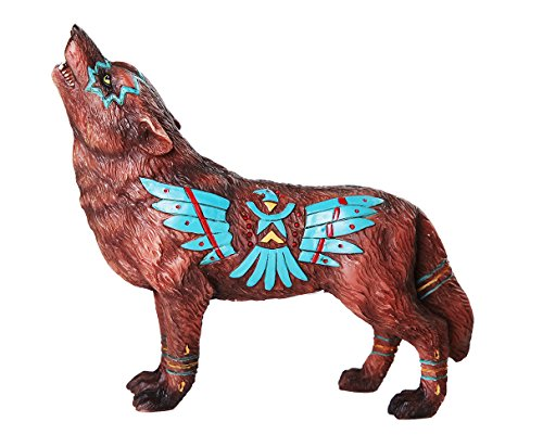 Pacific Giftware The Wolf Spirit Collection Eagle Wolf Spirit Collectible Figurine