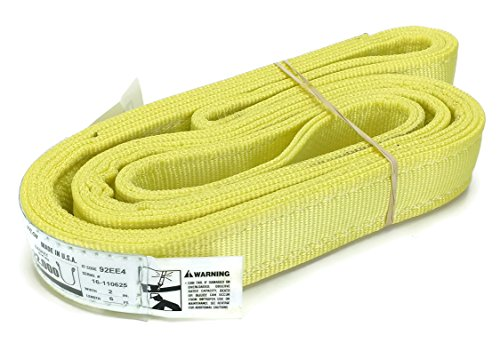 4-Ply-Slings-Many-Lengths-in-Listing-USA-Made-2x-Nylon-Lifting-Web-Sling-11000-lbs-Vertical-8800-Choker-22000-Basket-High-Capacity-Eye-Eye-Heavy-Duty