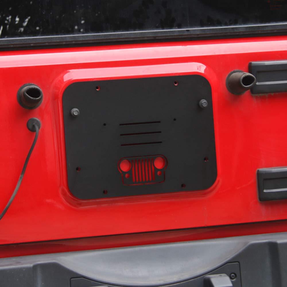 Festnight Presa dAria Coperchio Porta Posteriore Pannello di sfiato per Jeep Wrangler 2007-2017