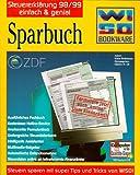 WISO Sparbuch 98/99. 3 CD- ROMs für Windows 3.1x/95/ NT 4.0