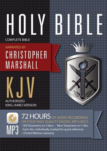 KJV Marshall Complete Bible on MP3