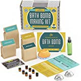 DIY Bath Bomb Kit Deluxe with Mold Set