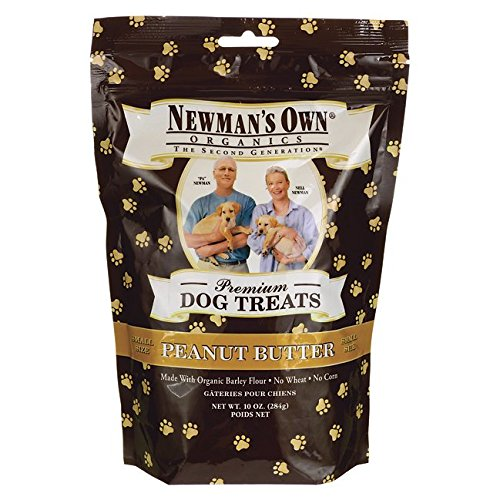 Cheap Newman's Own Organics Small Dog Treats Peanut Butter — 10 oz