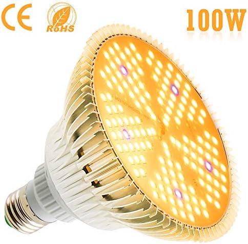 E26//E27 150W LED Grow Light Bulb Full Spectrum Sunlike Foldable Veg Stretch Lamp