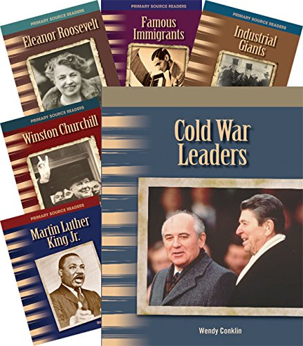 Teacher Created Materials - Primary Source Readers: Biographies: 20th Century - 8 Book Set - Grades 4-5 - Guided Reading Level N - R ()