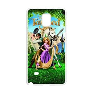 Samsung Galaxy Note 4 Cell Phone Case Whtie Tangled exquisite Anime image AIO6251097