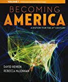 img - for 1: Becoming America, Volume I book / textbook / text book