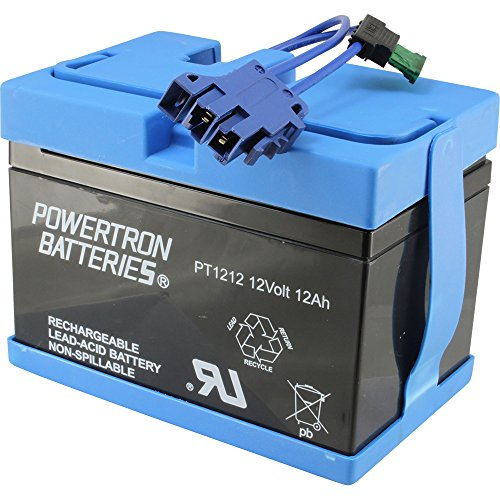 Peg Perego Battery - Universal Peg Perego Replacement 12V Battery for John Deere Tractor Ride-on-Toy