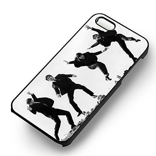 Jumping The Beatles pour Coque Iphone 6 et Coque Iphone 6s Case (Noir Boîtier en plastique dur) Z6G2GG