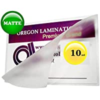 Qty 500 Matte 10 mil Letter Laminating Pouches 9 x 11-1/2 Hot