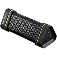 Luckybird Outdoor Sport Waterproof  Shockproof  Dust-proof Support All Digital Audio Device With 3.5mm Jack Wireless Bluetooth Speaker-Black