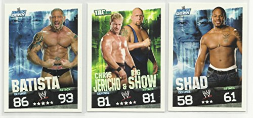 wwe slam attax evolution trading card game - 6