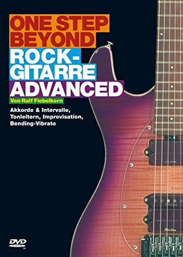 Advanced Rock Guitar Dvd - 9