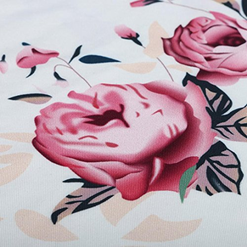 ❤️ y traje tirantes Mujer de impresión citas fresco Blusa sexy las de con verano floral suave verano Camisas desnudo hombro Suelto Sonnena C Actividades manga para ❤️ casual mujeres sin HBTIBw