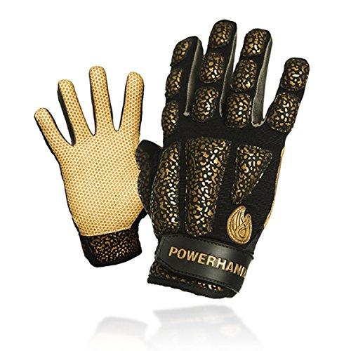 POWERHANDZ Weighted Training Gloves, Black, - Gloves Dribble