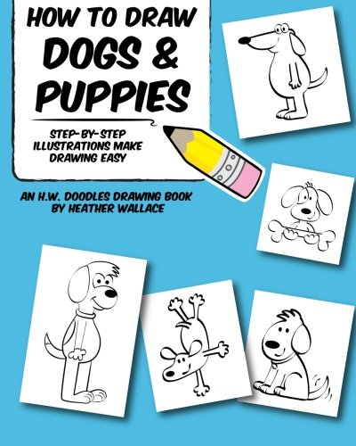 draw dogs and puppies - 5