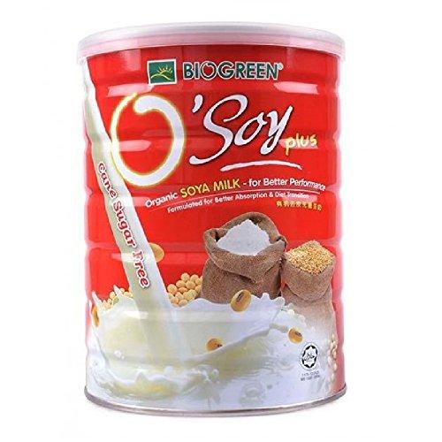 Biogreen Organic Sugar Free Soy milk 700g (628MART) (6 Count) by Bio Green (Image #1)