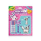Crayola Scribble Scrubbies, Colour & Wash Cat, Washable, Reusable, Collection, Gift for Boys and Girls, Kids, Ages 3,4, 5, 6 and Up, Holiday Toys, Stocking Stuffers,  Arts and Crafts