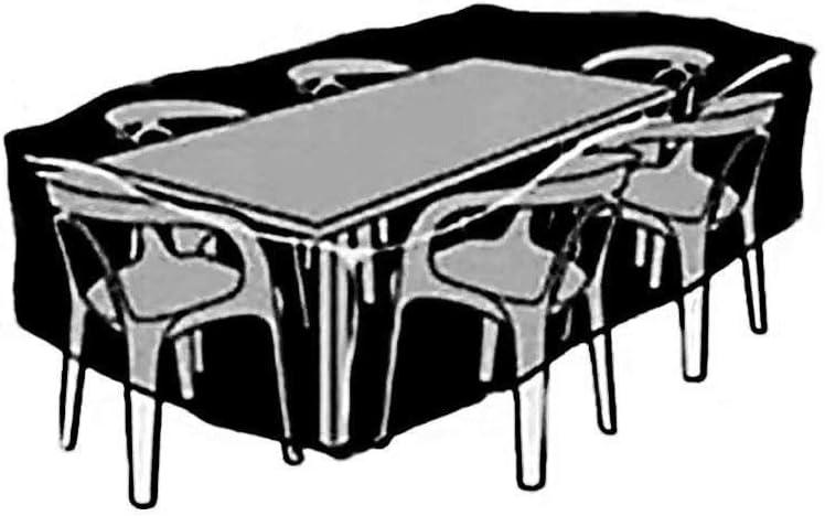 Cubiertas De Silla De Mesa De Muebles De Patio De Tela Oxford A Prueba De Polvo A Prueba De Agua A Prueba De Polvo,150X116X80Cm applemi Funda para Muebles De Jard/íN