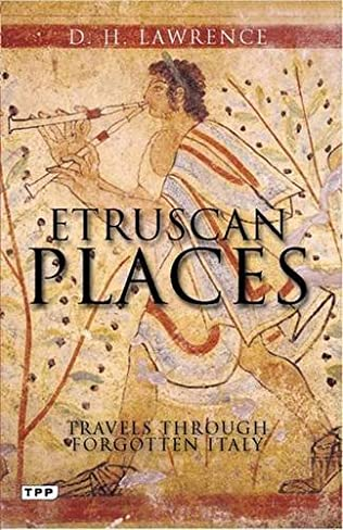 book cover of Etruscan Places