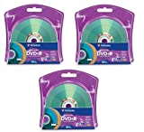 Verbatim 16x DVD+R LightScribe Assorted Color Blank Media, 4.7GB/120min - 30 Pack (3 x 10 Packs)