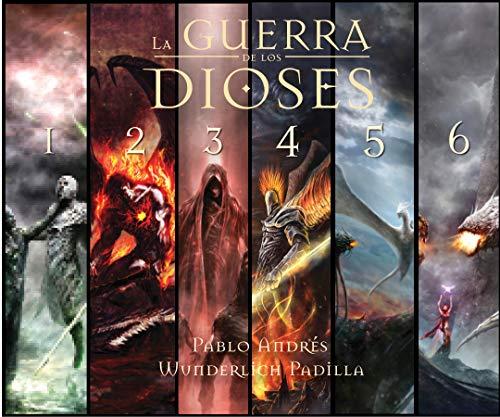 La Guerra de los Dioses (Ultra-Pack: Saga Completa) (Spanish Edition)