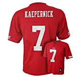 Colin Kaepernick San Francisco 49ers #7 NFL Youth Mid-Tier Jersey Red (Youth Large 14/16)