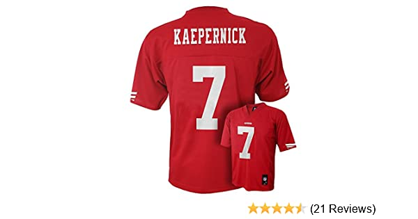 Amazon.com   Outerstuff Colin Kaepernick San Francisco 49ers  7 NFL Youth  Mid-Tier Jersey Red   Sports   Outdoors 0b4d6493a