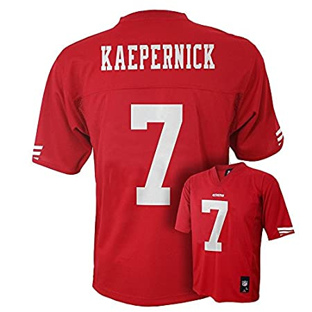Amazon.com   Colin Kaepernick San Francisco 49ers  7 NFL Youth Mid-Tier  Jersey Red   Sports   Outdoors 637d02f6b