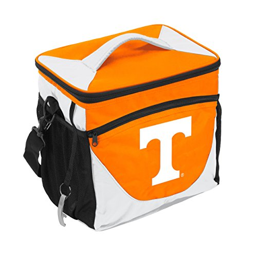 (NCAA Tennessee Volunteers 24-Can Cooler with Bottle Opener and Front Dry Storage Pocket)