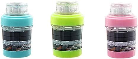 TOPBATHY Cabezal de Filtro de purificador de Agua de Grifo de Cocina Ajustable para Cocina 3 Piezas: Amazon.es: Electrónica